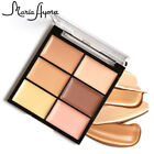 New Face Concealer Cosmetics Waterproof Full Cover 6 Colors Makeup Cream Palette