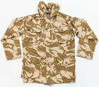 BRITISH ARMY DESERT WINDPROOF SMOCK - USED - GRADE 1 GOOD CONDITION - ALL SIZES