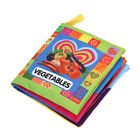 Soft Cloth Book For Children Educational Cartoon Animals Cognize Colorful Toys