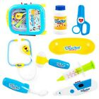 Medicine Cabinet Simulation New Kids Baby Funny Play Set Children Gift Red Blue