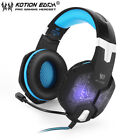 EACH G1000 PC Gaming Bass Stereo Headset Microphone LED Laptop Computer lot TH