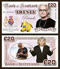 Billy Connolly Novelty Banknotes
