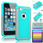 Shockproof Hybrid Rugged Rubber Silicone Hard Armor Case Cover for iPhone 5C