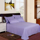 Single Piece Flat Sheet Bedding Cotton Bed Sheet Twin Full Queen King Size