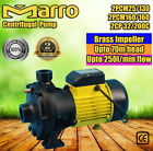 Marro Multistage Centrifugal Pump 1HP/2HP BRASS Impeller Up to 160L/min&58m Head