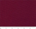 MINI DOTS 100% COTTON FABRIC SANTEE PRINT WORK MANY COLORWAYS SIZE YOUR CHOICE