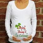 Cotton Christmas Baby For Maternity Pregnant Long Sleeve T-shirt Tops Shirts US