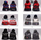 New NFL England Patriots Eagles Beanie Hat Football Cap Rugby Kint Wool Winter