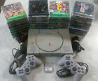 Playstation 1 PS1 Console System with games and controllers
