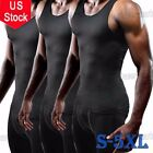 US Band Shaper Hot Thermo Sweat Shapewear Mens Tank Top Vest Activewear Apparel