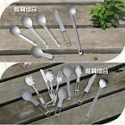 Portable Camping Hiking Cutlery Folding Titanium Fork Ultralight Spoon Knife