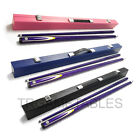Purple Full Length 2-Piece Pool Snooker Billiard Cue With Black Pink Blue Case $88.99 AUD on eBay