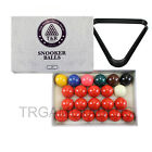 Billiard Snooker Balls & Triangle Rack Set - 2 Inch & 2-1/16 Inch Available AU $43.99 AUD on eBay