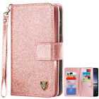 For ZTE Carry Z981 Luxury Carry Wallet Case Magnetic Card Pocket Leather Cover