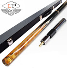 LP ZHUOYUE Cue Snooker 10mm Tips 3 4 Snooker Cues Case Set Color A/B/C $239.77 CAD on eBay