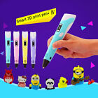 3D Printing Pen 2nd Crafting Doodle Drawing Arts Printer Modeling PLA/ABS Gift