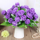 8Head Artificial Fake Peony Silk Hydrangea Flower Bouquet Wedding Decoration