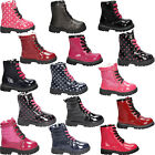 Girls Kids Boots Winter Ankle Fur Sole Shoes Sizes Children NEW