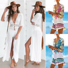 Ladies Beach dress Cover up Kaftan Sarong Summer wear Swimwear Bikini Summer