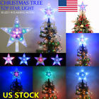 outdoor xmas trees with lights - US 8 Mode 31LED Christmas Tree Top Star Flash Light Outdoor Home Lamp Xmas Decor