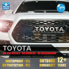 Toyota 2016 2017 2018 Tacoma TRD PRO Grille Letter Inlays Premium Vinyl Decals