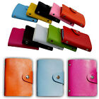 Hot 10 Color Credit Card Holder Leather Unisex ID Package Organizer Manager WOW