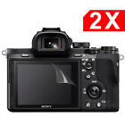 2x LCD Screen Protector for Sony RX100 A6500 A6000 A5100 A7II A7SII A9 A99 HX90