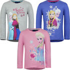 OFFICIAL FROZEN GIRLS TOP VARIOUS SIZES COLOURS NEW IN PACKAGING FREE DELIVERY