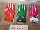 NIKE SUPERBAD 3.0 ADULT PADDED RECEIVER FOOTBALL GLOVES, NWT, PGF370, NCAA