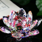 Kyпить Lotus Crystal Glass Figure Paperweight Ornament Feng Shui Decor Collection NEW на еВаy.соm