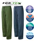 FORTRESS Tempest WATERPROOF TROUSERS - Comfortable BREATHABLE Polyester RIPSTOP