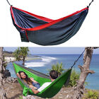 XL Double Parachute Camping Hammock Max 880lbs Outdoor Hiking Beach Camping Gift