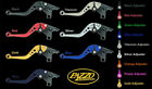 BMW 2006-2009 HP2 MEGAMOTO PAZZO RACING ADJUSTABLE LEVERS - ALL COLORS / LENGTHS