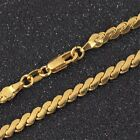 Wholesale 18K Yellow Gold Plated Filled Chain Necklace Jewelry 18-26 inches