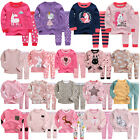 Vaenait Baby Kids Toddler Girls Long Clothes Pajama Set 12M-7T