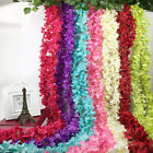 IK- Fake Artificial Flower Hanging Garland Plants Ivy Vine Wedding Party Decor W
