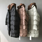 Fashion Hot Women Thick Outerwear Two fake hooded caps Long Coat Quilted Jacket
