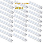 25Pcs LED T8 Fluorescent Tube Light 4ft Daylight Ballast-Free Dual-Ended Power фото