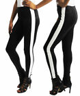 Womens leather Look Skinny Stretchy Slim Fit Trousers UK Stock Fashion Legging