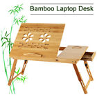 Bamboo Wooden Bed Tray With Folding Legs Serving Breakfast Lap Tray Table Mate