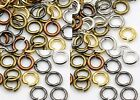 6mm Closed Mix Gold Silver Bronze Copper Brass Open Jump Rings Findings QUALITY