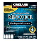 KIRKLAND MINOXIDIL SOLUTION 5% EXTRA STRENGTH HAIR LOSS REGROWTH 1 - 12 MONTH