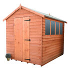 Shedrite Top quality 9mm overlap garden sheds inc  free delivery