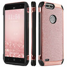 For ZTE Sequoia / Blade Z Max Hybrid Slim Protective Hard PC Soft TPU Cover Case
