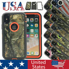 For Apple iPhone X 10 Case Cover Tree Flag Camo Shockproof Heavy Duty Defender