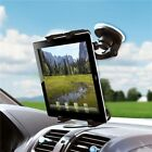 Car Mount Tablet Holder Windshield Swivel Cradle Stand Window X6A for Tablets