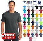 JERZEES DRI-POWER Blend T-SHIRT Active Gym Casual Comfort Plain Color Mens T 29M image