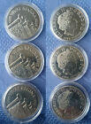 UK Commemorative £5 Pound Crown Coins, Encapsulated, BU & Proof, Free Postage