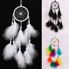 Indian Handmade Dream Catcher with Feathers Wall Hanging Ornament Craft Gift IK_