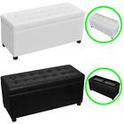 Tents with good head height - Storage Ottoman Flip-Over Tray Top Coffee Table Foot Rest Stool Seat Black/White